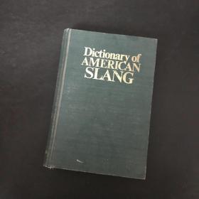 Dictionary of American slang 16开精装本 美国俚语词典