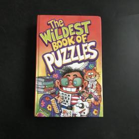 最疯狂的拼图书英文原版(the wildest book of puzzles)