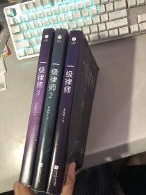 一级律师1.2.3(全) /木苏里 著