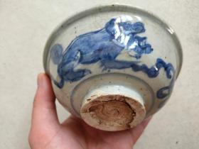 青花 瓷碗
