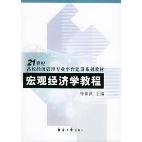 宏观经济学教程——21世纪高校经济管理专业平台建设系列教材