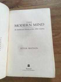 The Modern Mind:An Intellectual History of the 20th Century (货号d221)