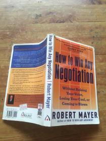 how to win any negotiation(货号d67)