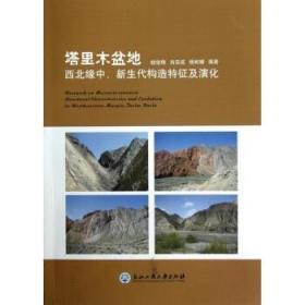 塔里木盆地(西北缘中新生代构造特征及演化) 钱俊锋//肖安成//杨树锋 著