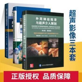 正版医学书 超声引导下区域疼痛阻滞图谱(第3版)+超声引导下的神经阻滞技术+外周神经阻滞与超声介入