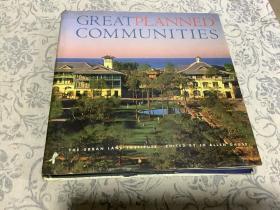 精装12开 大厚册《GREAT PLANNED COMMUNITIES伟大的社区计划》画册 图文并茂 内都是世界顶级别墅建筑区图片[英文原版]