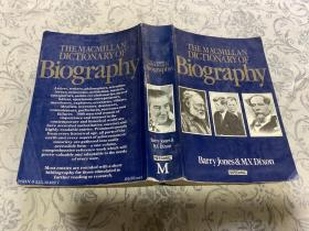 THE MACMILLAN DICTONARY OF Biography麦克米伦传记词典(英文原版)