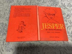 瑞典语原版 JESPER av Anna Westberg 【杰斯珀】精装少年儿童图文本