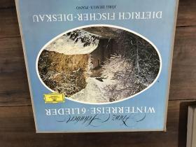 黑胶原版唱片2张装 winterreise 6lieder