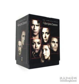高清美剧吸血鬼日记 The Vampire Diaries 原声英文38DVD碟完整版