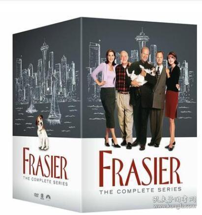 Frasier 欢乐一家亲1-11季完整版 44DVD高清美剧
