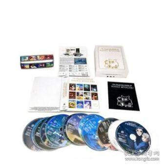 Works of Hayao Miyazaki 宫崎骏动画全集 12BD蓝光 英文发音