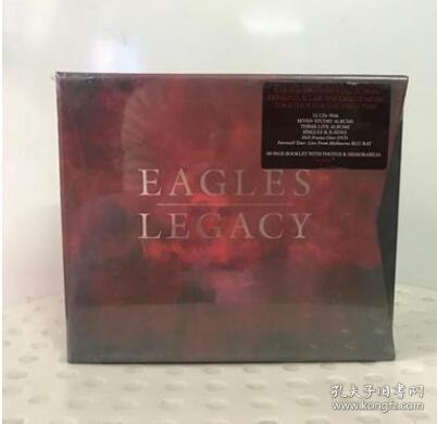 老鹰乐队《遗产》 Eagles Legacy 12CD+1DVD+1BD 全集 CD 专辑