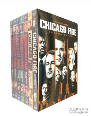 芝加哥烈焰 第1-8季 Chicago Fire 56DVD 高清美剧碟片