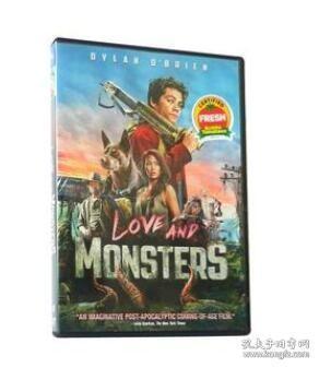爱与怪物 Love and Monsters 高清电影英文DVD