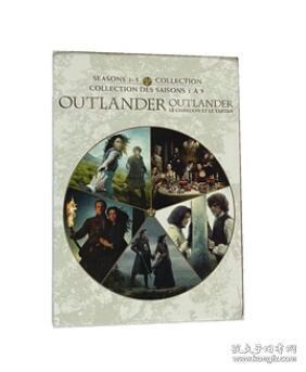 古战场传奇 第1-5季 完整版 Outlander 25DVD 高清美剧英文版