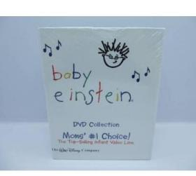 DVD动画碟 Disney Baby Einstein 小小爱因斯坦看世界 早教启蒙