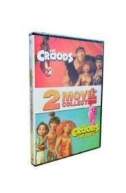 疯狂原始人1-2 The Croods 2DVD 高清动画片英文发音
