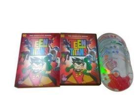 少年泰坦 Teen Titans 完整版 7DVD碟 高清动画片英文版