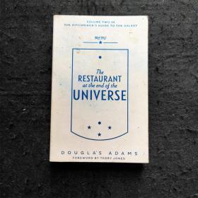 【英文原版※现货】The restaurant at the end of the universe宇宙尽头的餐馆 长篇科幻小说 作者道格拉斯·亚当斯Douglas Adams 银河系搭车指南系列