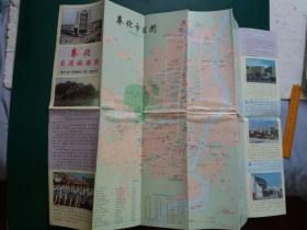 【旧地图】奉化交通旅游图 (1992年1月1版1印)