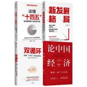 【正版套装4册】论中国经济+新发展格局+读懂十四五+双循环