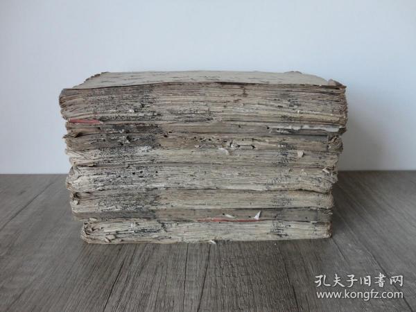 光绪白纸线装石印本《白芙堂算学丛书》八册一套全。品相一般,价格便宜。尺寸:19.2 x 13.2 x 15 cm 。32开大小。