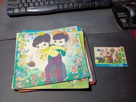 江苏儿童1981年8册合售(11+10+9+7+6+5+4+1)
