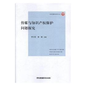 正版新书当天发货 传媒与知识产权保护问题探究  9787504380739