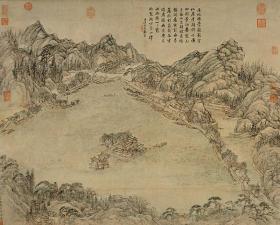 清 张宗苍 西湖图