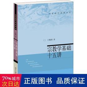 宗教学基础十五讲 宗教 王晓朝 新华正版