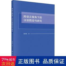 跨语言视角下的汉语假设句研究