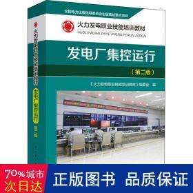 火力发电职业技能培训教材 发电厂集控运行(第二版)