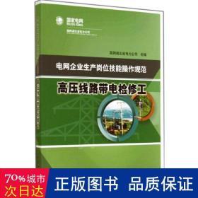 电网企业生产岗位技能操作规范:高压线路带电检修工