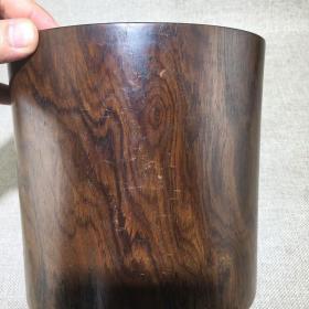 老家具古玩木器黄花梨笔筒一件