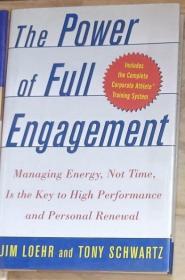 英文原版 The Power of Full Engagement by Jim Loehr 著