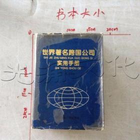 世界著名跨国公司实用手册
