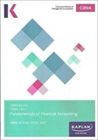 Fundamentals of Financial Accounting:Subject BA3