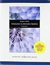 Introduction to Information Systems Sixteenth Edition