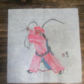 京剧人物美猴王(尺寸22*23CM)
