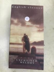盒带:English classics  UNCHAINED MELODY(英文经典)【全3盒】