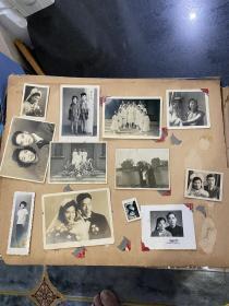 民国时期上海红十字会医院疗养院女护士老相册一本 300多张民国时期老照片和很少少部分建国后五六十年代老照片以及3张大尺寸民国老照片 未添未减原封未动内容丰富精彩价格实惠