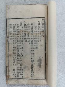 木刻本《增注写信必读》卷六~卷八,三卷共计44页88面