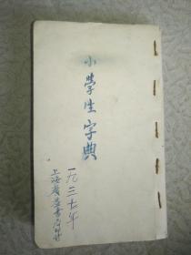 白话绘图学生小字典,极罕民国初期印,大量绘图,子至亥十二集合一厚册