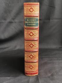 Poems of Robert Browning 布朗宁诗集