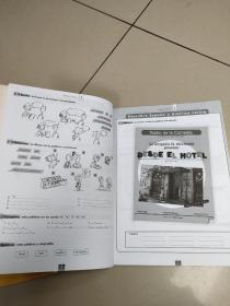 CURSO DE ESPANOL PARA EXTRANJEROS nuevo(inicial   1)埃斯帕诺学院(书+练习册)没盘,有少量勾画