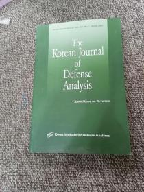 The Korean Journal of Defense Analysis   Special Issue on Terrorism  A Semiannual Journal Vol. XIV, No. 1, March 2002