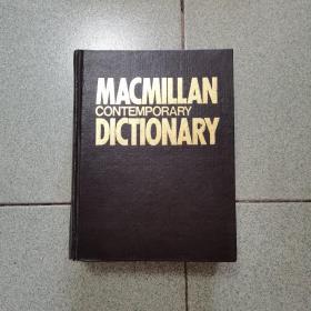 MACMILLAN CONTEMPORARY DICTIONARY(麦克米伦当代英语词典)精装
