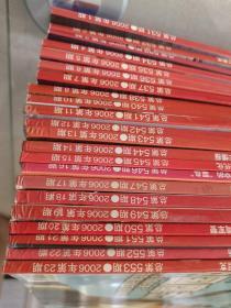 国际展望2006年第1期至第8期,第9期至第23期,共23本