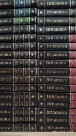 Encyclopedia Britannica英文原版大英百科全书全套32册,革面精装大十六开本,1992年出版